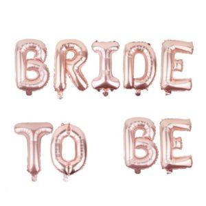 bride to be luftballon