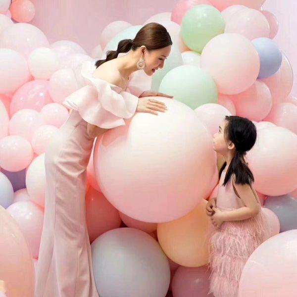 luftballons pastell 5teile xxl