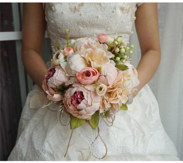 künstlicher blumenstrauß Hochzeit