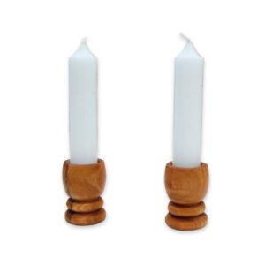 Kerzenständer Holz PICCOLO 2er Set