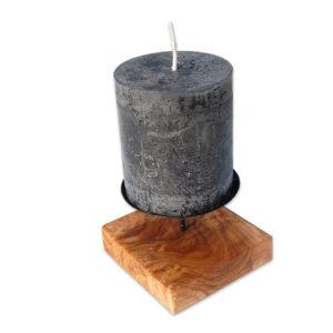 Rustikaler Kerzenhalter BLOCCO